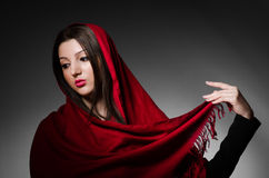 Portrait of the young woman Royalty Free Stock Image