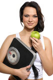 Portrait of a young woman living a healthy life Stock Image