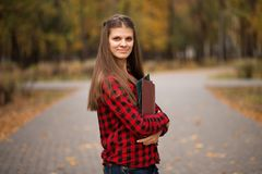 Portrait of young woman manager established cooperation with investors and government agencies. And implemented an anti-crisis program stock images