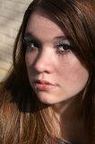 Portrait Of A Young Woman Stock Photography