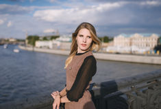 Portrait of young woman. Royalty Free Stock Photos