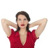 Portrait young woman Stock Photos