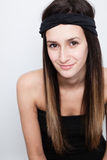 Portrait of a young woman smiling Royalty Free Stock Image