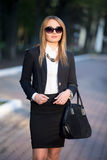 Portrait of young woman in sunglasses Royalty Free Stock Photo