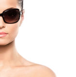 Portrait of a young woman in sunglasses Stock Photo