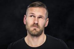 Portraite śmieszny mężczyzna Obrazy Royalty Free