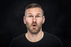 Portraite śmieszny mężczyzna Zdjęcie Stock