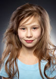 Portraite sonriente bonito de la muchacha Imagen de archivo libre de regalías