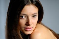 Portraitfrau Stockfotos