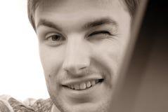 Portraitgeschäftsmann, Gesicht lizenzfreie stockfotos
