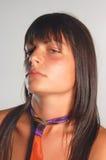 Portraitmädchen lizenzfreie stockfotografie