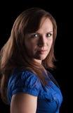 Portraitmädchen Stockfoto