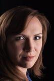 Portraitmädchen Stockbild