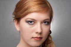 Portraitmädchen lizenzfreies stockbild