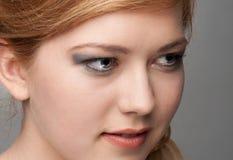 Portraitmädchen stockfotos