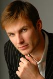Portraitmann Lizenzfreies Stockfoto