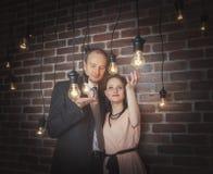 Portraits étonnants de couples image libre de droits