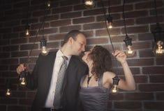 Portraits étonnants de couples photos stock
