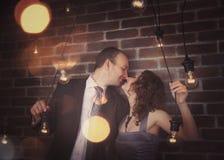 Portraits étonnants de couples photos libres de droits