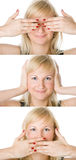 Portraits of a beautiful woman Royalty Free Stock Image