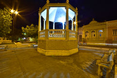 Portraits of the Brazil.  Alagoas. The beautiful square of the city of Penedo. Alagoas, Brazil Royalty Free Stock Images