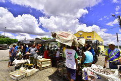 Portraits of the Brazil.  Alagoas. Free Fair. City of Porto Real do Colégio. State of Alagoas, northeastern Brazil. City that sits on the banks of the San Royalty Free Stock Images