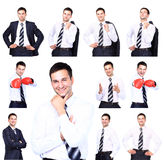Portraits of businessman Royalty Free Stock Photography