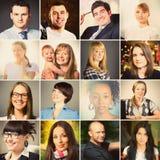 Portraits de personnes Image stock