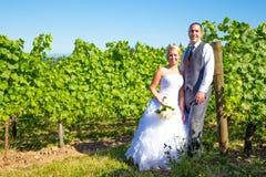 Portraits des jeunes mariés Photographie stock libre de droits