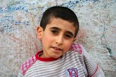 Portraits eines armen Jungen Lizenzfreie Stockfotografie