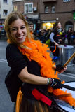 Portraits  from the Grand Carnival Parade 2016 in Madrid, Spain Stock Image