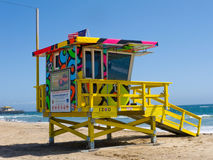 Portraits of Hope Lifeguard Tower Royalty Free Stock Photos