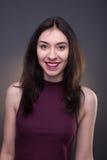 Portraits lovely girl in the studio Stock Image