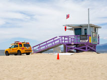 Portraits Of Hope Lifeguard Tower Stock Photography