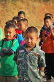 Portraits of school children Royalty Free Stock Image