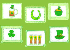 Portraits of a St. Patrick's Day Royalty Free Stock Photo