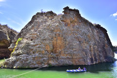 Portraits of the word. Alagoas. Brazil. The beauty of the canyons of the San Francisco River. State of Alagoas. Brazil Stock Photo