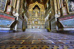 Portraits of the world. Alagoas Brazil. The beautiful   historic catholic church of our lady of the chains, city of Penedo. State of Alagoas Brazil Royalty Free Stock Photos