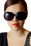 Portrat di un redhead Immagini Stock