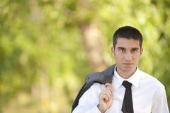 Portrat di un uomo di affari Immagini Stock Libere da Diritti