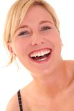 Portrate Of A Happy Young Woman II Stock Photo