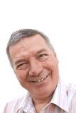 Portrate of senior man. Stock Image