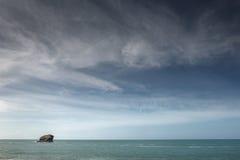 Portreath海景射击 免版税库存图片