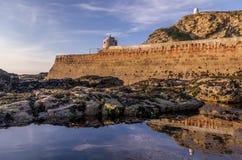 Portreath港口 免版税图库摄影