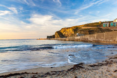 Portreath Beach Cornwall Stock Photography