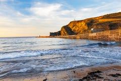 Portreath Beach Cornwall Royalty Free Stock Photography
