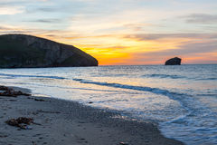 Portreath Beach Cornwall Royalty Free Stock Photography