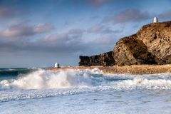 Portreath on the Cornwall Coast Royalty Free Stock Photography
