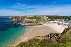 Portreath Cornwall England Stock Photography