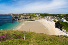 Portreath Cornwall England Stock Images